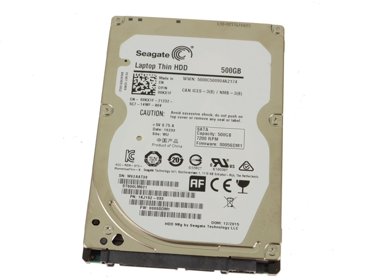 DELL VOSTRO 1220 NOTEBOOK SEAGATE ST9250464ASG HDD LAST