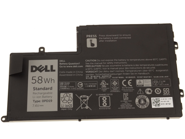 Dell OEM Original Latitude 3450 3550 58Wh Battery 0PD19