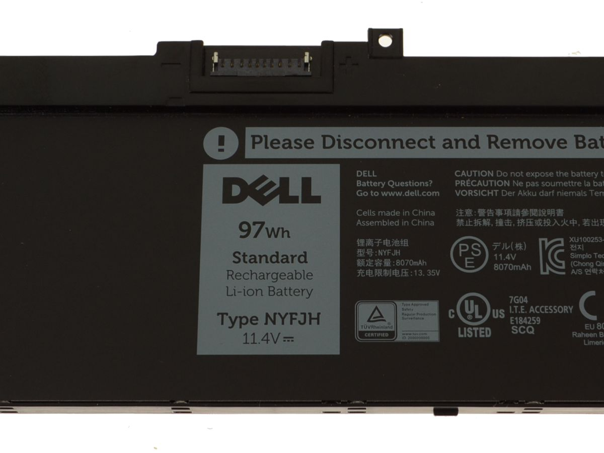 New Dell OEM Original Precision 7530 / 7730 6-Cell 97Wh Laptop Battery -  NYFJH