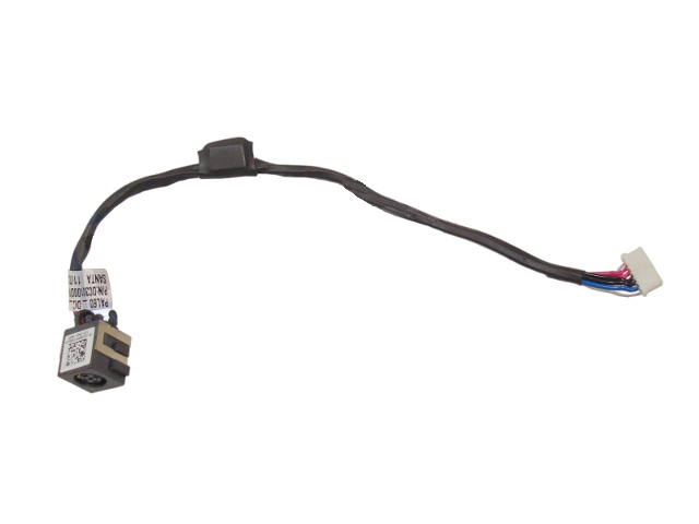 DELL LATITUDE E6520 DC POWER JACK SOCKET REPLACEMENT PORT W// CABLE 20NP9 020NP9