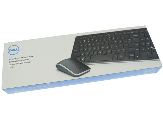 New Dell Oem Km714 Wireless Mouse Desktop Keyboard Km714
