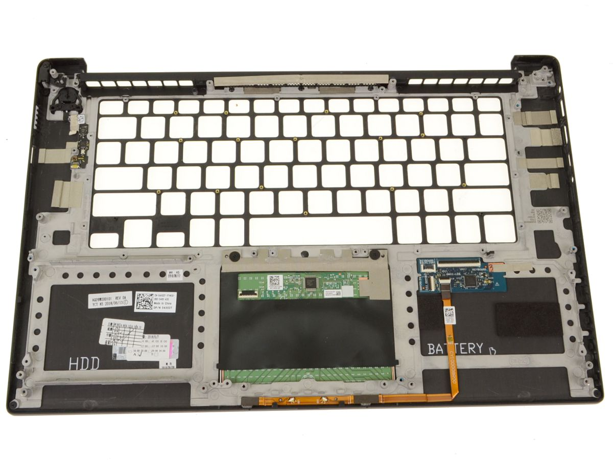 New Dell OEM XPS 15 (9570) / Precision 5530 Touchpad Palmrest Assembly -  4X63T