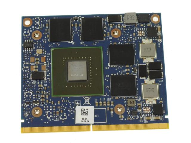 Dell OEM Precision M4800 Nvidia Quadro K1100M 2GB Video Graphics Card -  51Y08