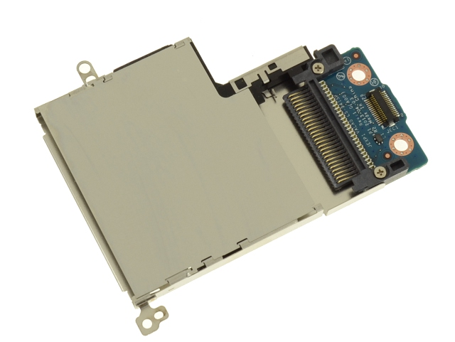 Dell OEM Latitude E6540 ExpressCard Reader Slot Cage and Circuit Board -  2T2YC - 6F6X8 w/ 1 Year Warranty