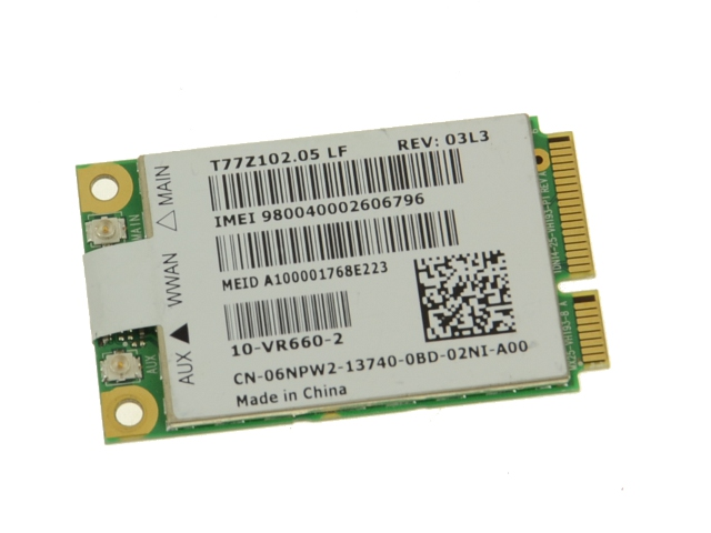 Dell Latitude E6410 Notebook 5620 EVDO-HSPA Mobile Broadband Mini-Card Drivers