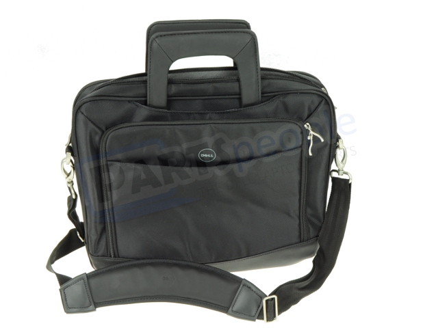 """Blk Water Resistant Mesh-Panel Nylon Strap Water Resistant Dell 14/"""" Briefcase"""