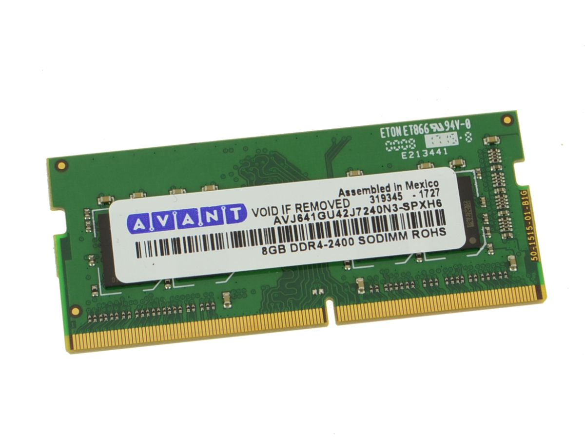 New DDR4 8GB 2400Mhz PC4-19200 SODimm Laptop RAM Memory Stick - 8GB