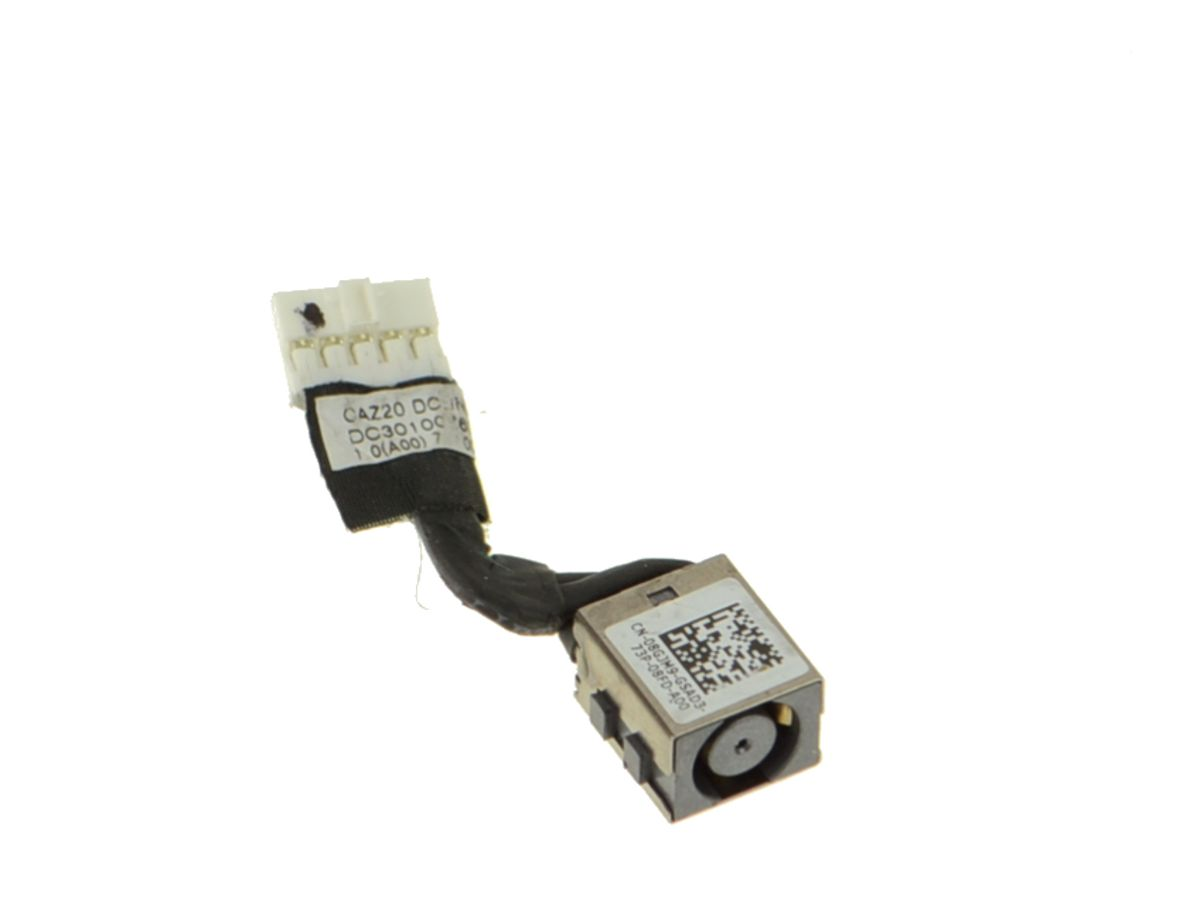 New Genuine Dell Latitude 7480 DC Jack with Cable 8GJM9 08GJM9