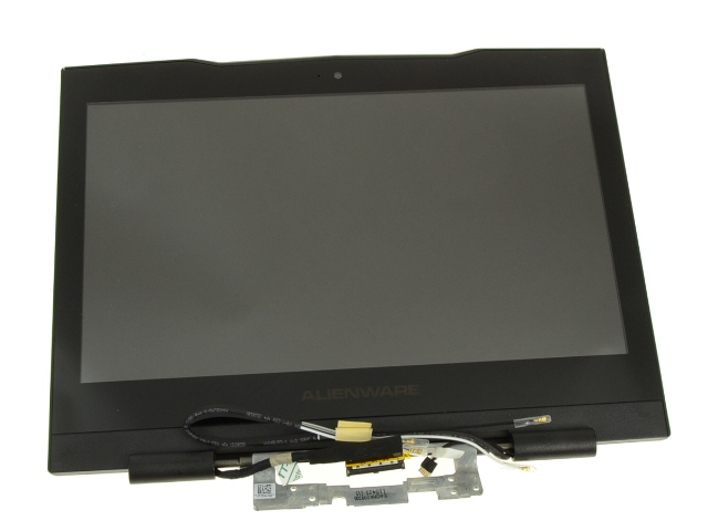 New BLACK - Dell OEM Alienware M11xR2 / M11xR3 LCD Screen Display Complete  Assembly with Web Camera - 8JJT2