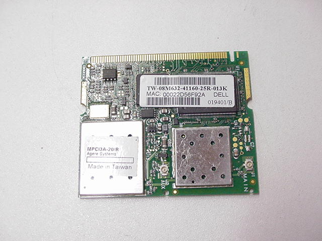 Dell Latitude C800 True Mobile 1150 Series Mini-PCI Card Driver for Windows 7