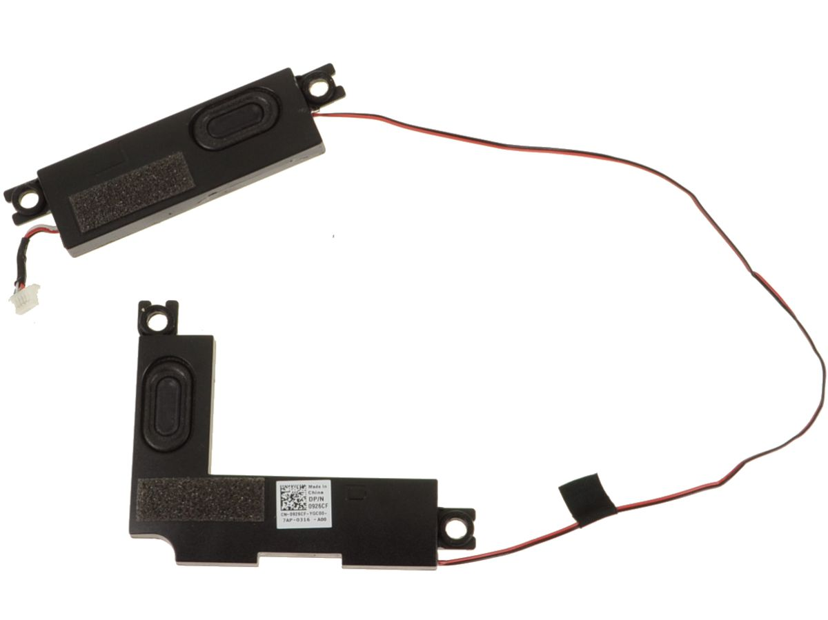 Dell OEM Inspiron 15 (7570 / 7573) Replacement Speakers Left and Right -  926CF w/ 1 Year Warranty