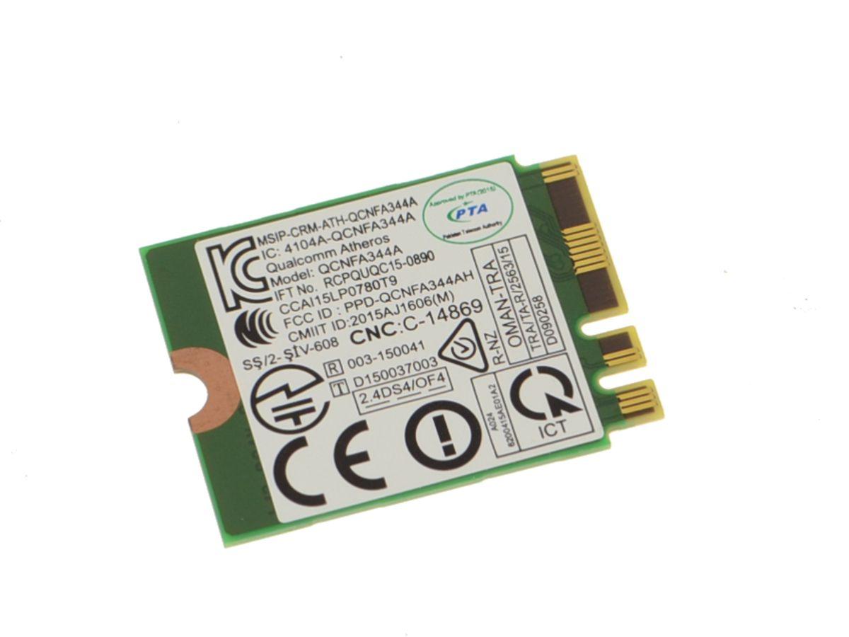 Dell OEM Wireless 1820 DW1820 WLAN WiFi 802 11AC + Bluetooth 4 1 Dual Band  M 2 Card - 97XFP w/ 1 Year Warranty
