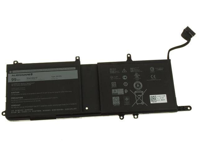 Alienware 17 R4 / Alienware 15 R3 Original 6-cell Laptop Battery 99Wh -  9NJM1 w/ 1 Year Warranty