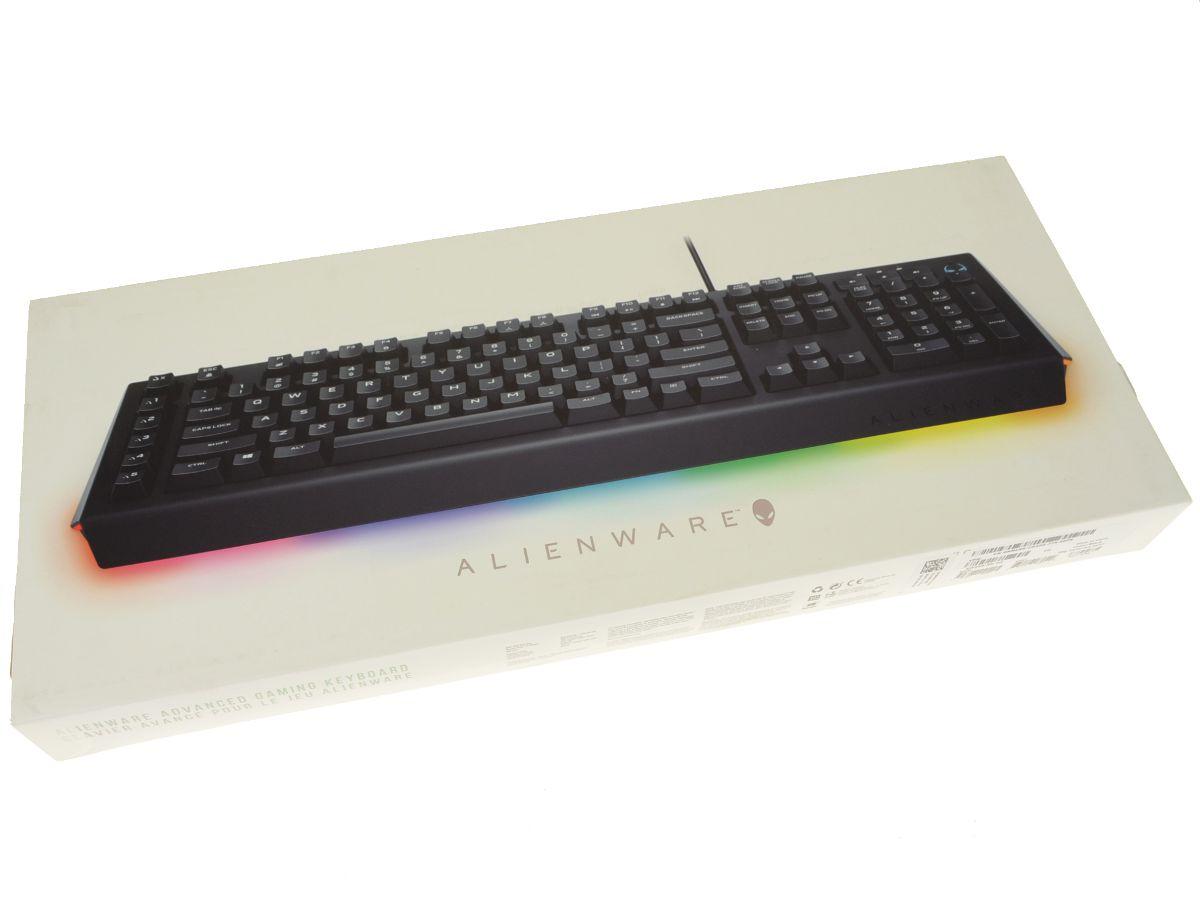 c80b3b3f9e9 New Dell OEM Alienware AW568 Desktop Keyboard AW568