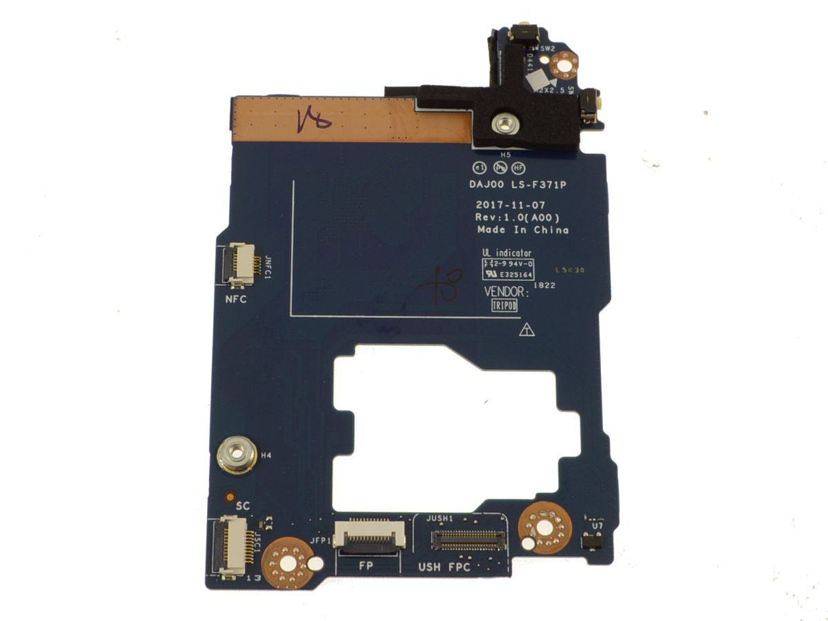 Fabulous Dell Oem Latitude 5290 2 In 1 Ush Board With Power Button Windows Home Button Circuit Board C1H58 Download Free Architecture Designs Rallybritishbridgeorg