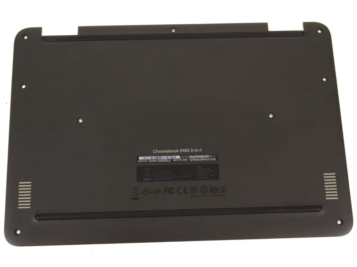 Dell OEM Chromebook 11 (5190) 2-in-1 Bottom Base Cover Assembly - C5NRC