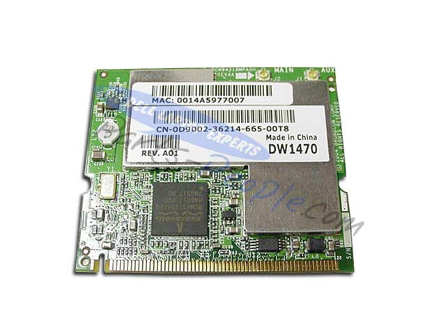 DELL DW1470 DRIVERS FOR MAC