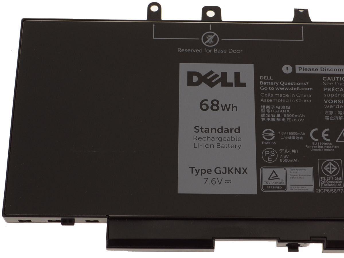 Dell OEM Original Latitude 5480 / 5580 / 5280 4-Cell 68Wh Laptop Battery -  GJKNX w/ 1 Year Warranty