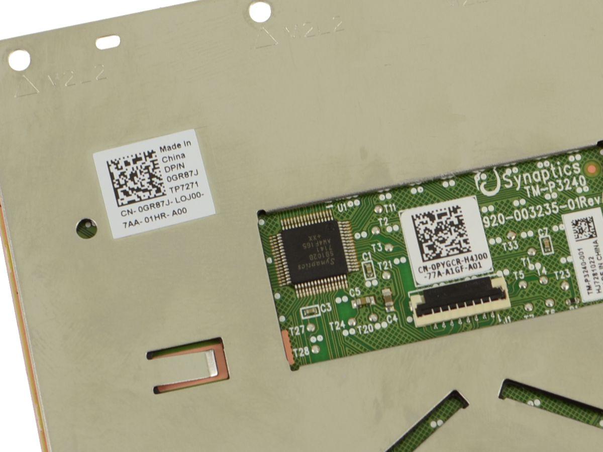 Dell OEM Inspiron 15 (7577 / 7567 / 7566) Touchpad Sensor Module - GR87J