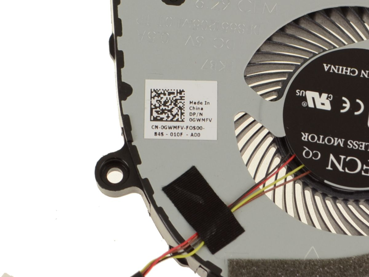 Dell OEM G Series G3 3579 Graphics Cooling Fan - For GPU - GWMFV w/ 1 Year  Warranty
