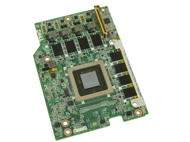 Dell OEM Precision M6500 Nvidia Quadro FX3800M Video Graphics Card Without  Heatsink - H01X5