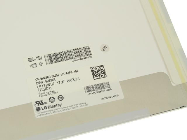 """NEW Genuine Dell//LG Precision M6500 17.0/"""" Matte LCD Screen WUXGA LP171WU7 H086R"""