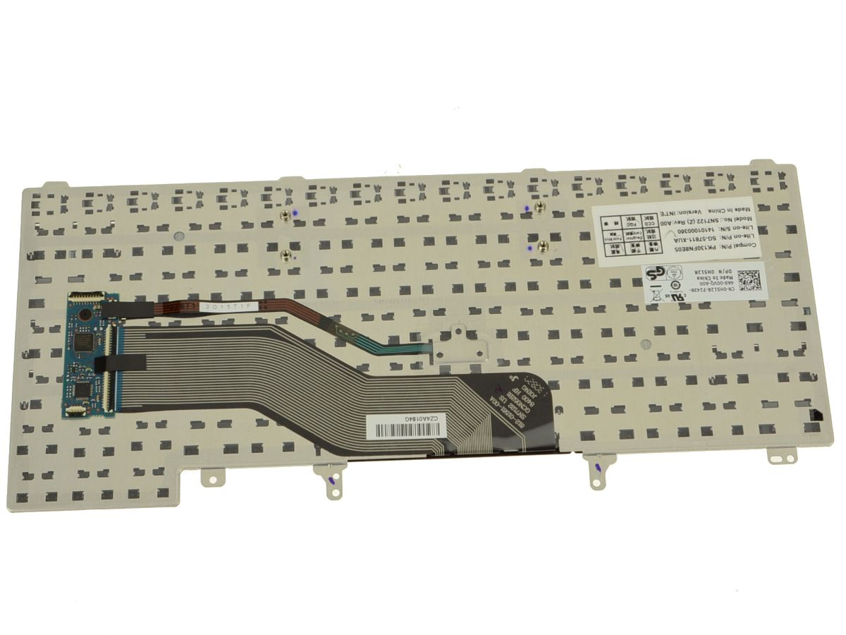 New Us Intl Dell Oem Latitude E6430 Laptop Keyboard H512r Wire Puter Fan Wiring Diagram Also E6330