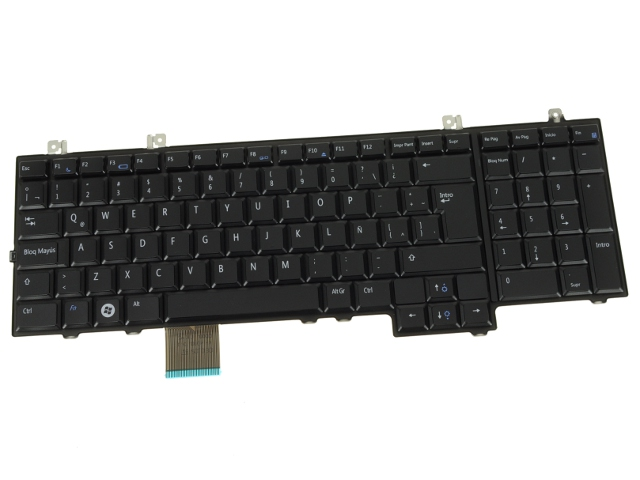 new spanish dell studio 1735 1737 laptop keyboard hw332 rh parts people com Dell Studio 1735 Screen Dell Studio 1735 Laptop