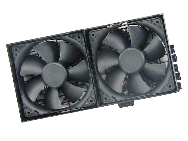 New Dell OEM Precision T3500 / T5500 MDT Dual Fan Assembly - HW856