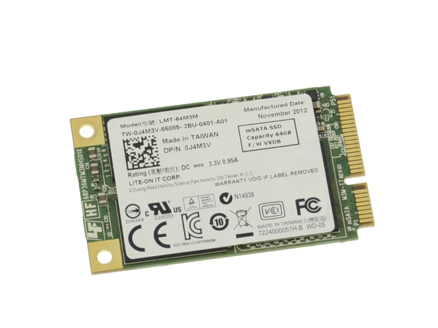Dell LiteOn LMT-64M3M SSD Driver for Windows 7
