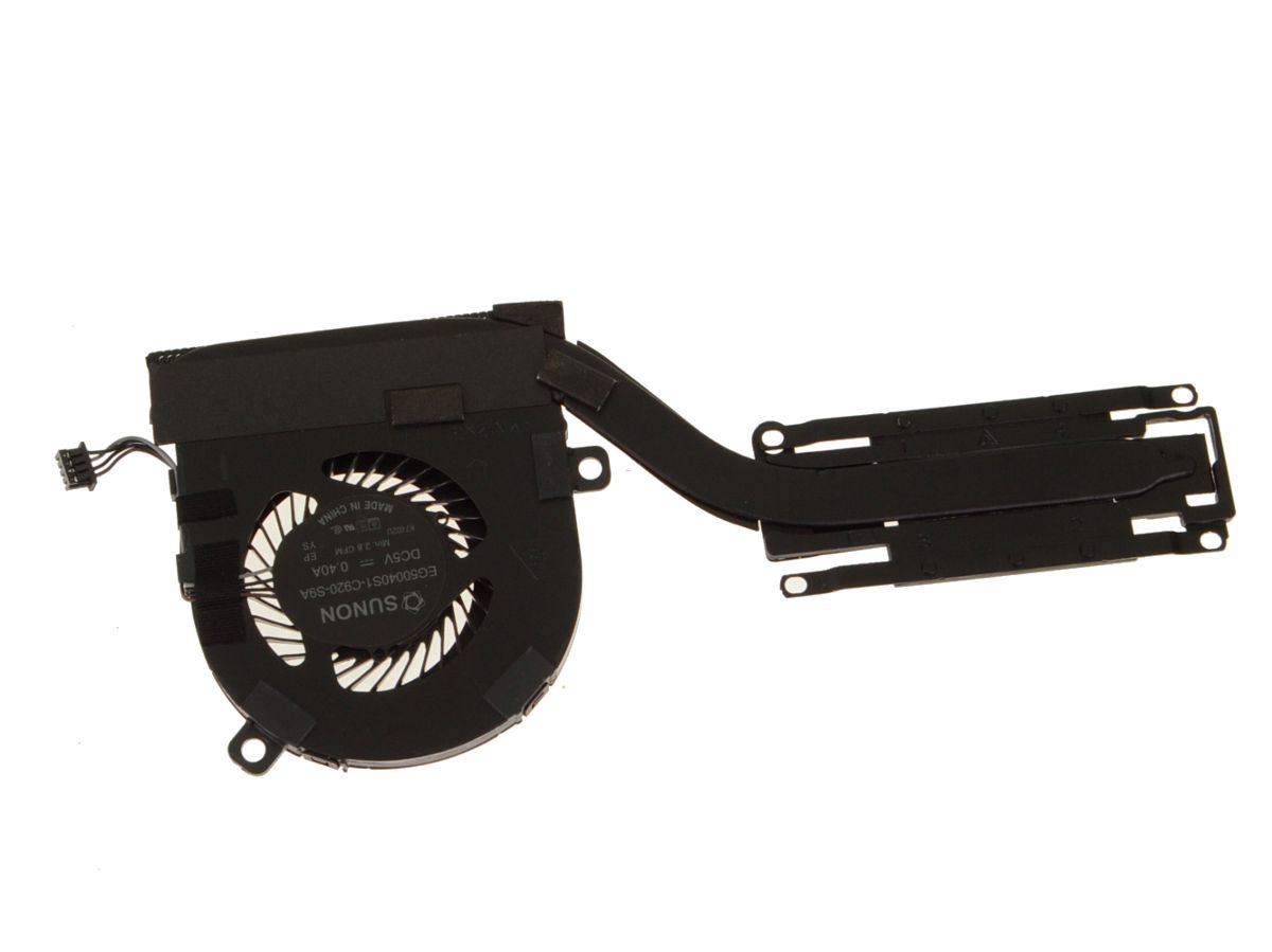Dell OEM Latitude 7280 CPU Heatsink Fan Assembly for Intel Graphics UMA -  KM50T w/ 1 Year Warranty