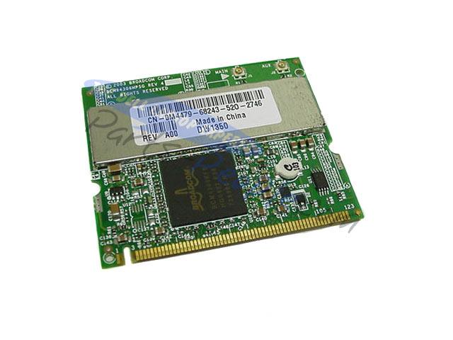 Dell Latitude D505 Wireless 1350 WLAN MiniPCI Card XP