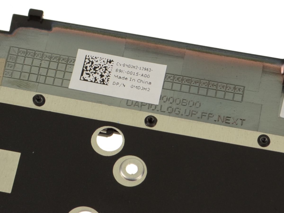 New Dell OEM Precision 7530 Touchpad Palmrest Assembly with Fingerprint  Reader - MDJH2