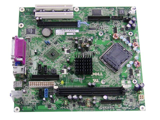 dell oem optiplex 320 desktop motherboard (system mainboard) mh651 optiplex 740 optiplex 320 motherboard diagram #1