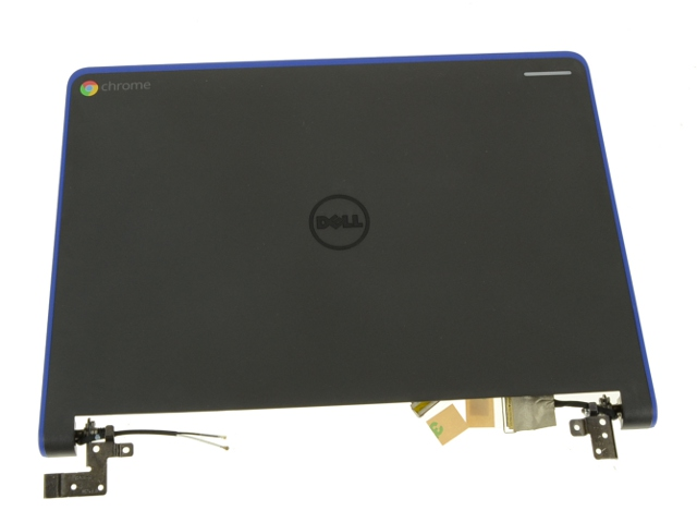 NEW Genuine Dell Chromebook 11 3120 LCD Back Cover w//Hinges and LCD Cable 0MP5xR