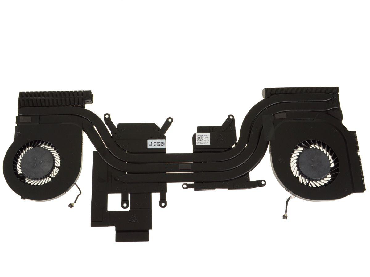 Alienware 13 R3 CPU / Graphics Cooling Heatsink Fan Assembly - MTCH7 w/ 1  Year Warranty