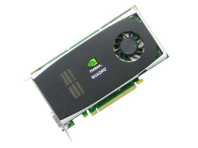 1x DVI GRAPHICS CARD PCI-E 16x DELL P418M NVIDIA QUADRO FX 1800 GDDR3 2x DP