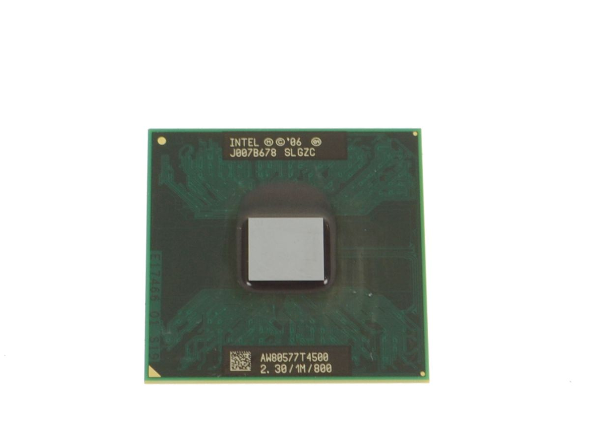 Intel CPU Laptop T4500 Dual Core T4500 2.3Ghz 1MB 800 SLGZC