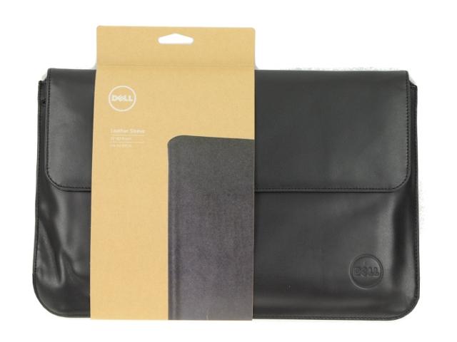 Refurbished Dell OEM XPS Black Leather Laptop Bag TYV3H 504759c21d67