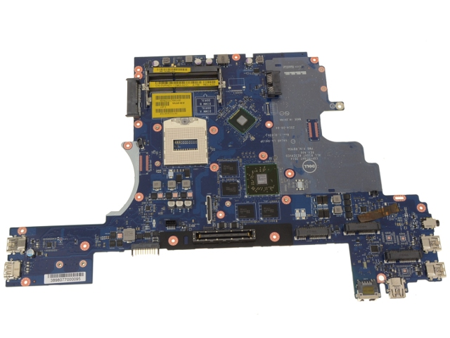 Dell OEM Latitude E6540 Laptop Motherboard (System Mainboard) with Discrete  AMD Radeon Graphics for EDP LCD - VPH0Y