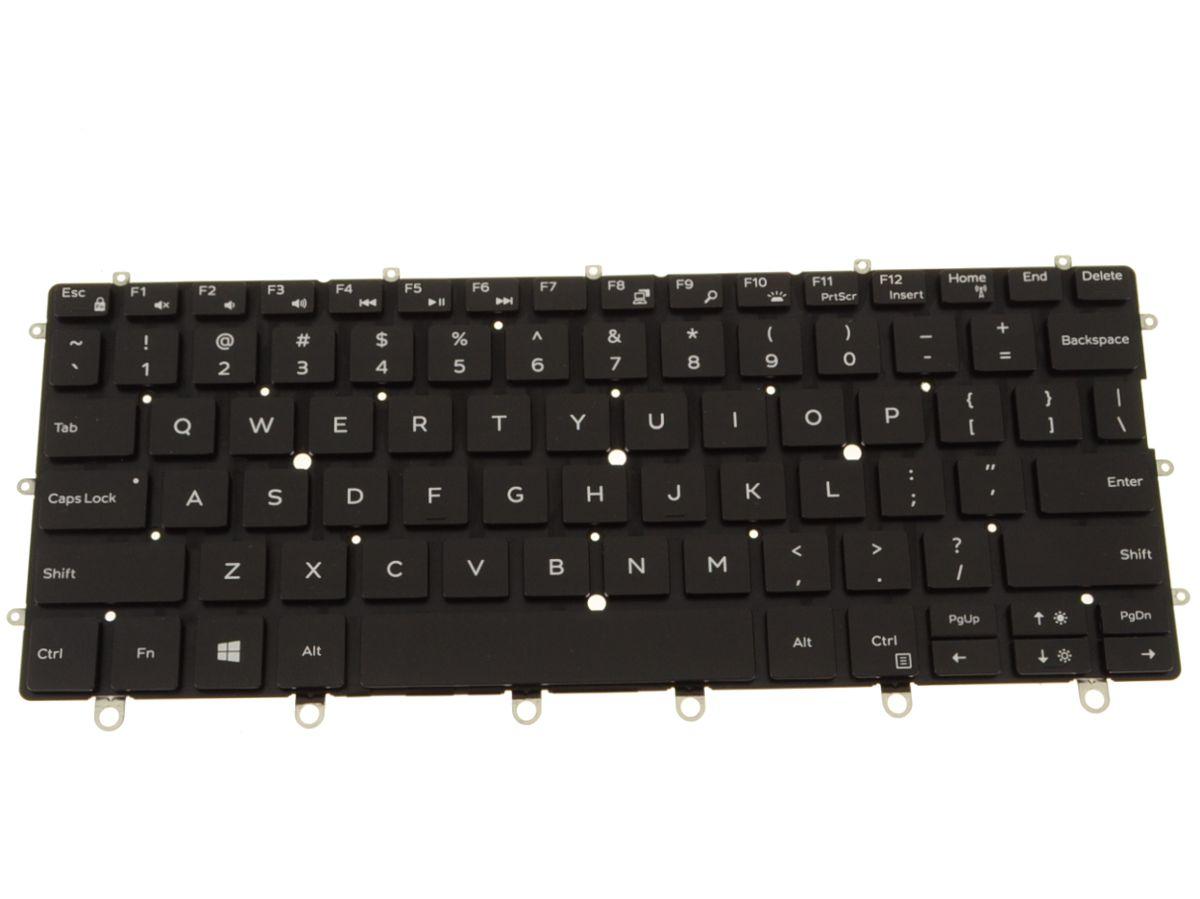 New Dell OEM XPS 13 (9365) Laptop Backlit Keyboard - WPCF9