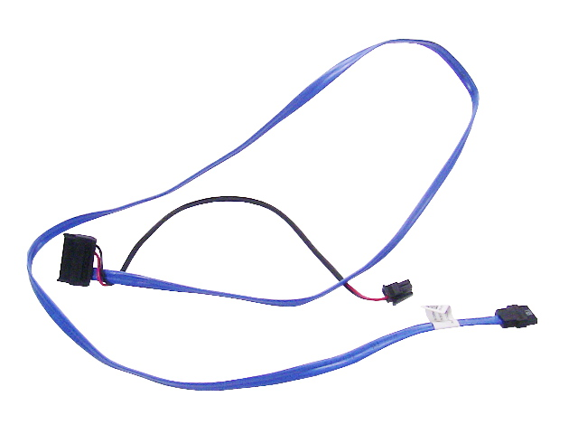 Dell OEM PowerEdge R610 / R710 Server SATA Optical Drive Cable & Power  Cable - XT618