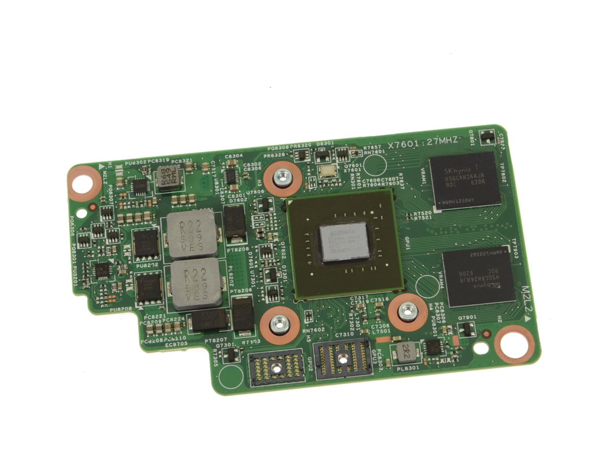 Dell OEM Inspiron 17 (7779 / 7778) 2-in-1 Nvidia GeForce 940M 4GB Video  Graphics Card Daughter Board - YDRF2