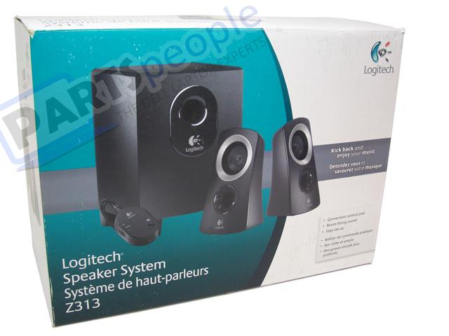 c862d0ea6f8 Refurbished Logitech Z313 3-Piece 2.1 Desktop Speakers Z313